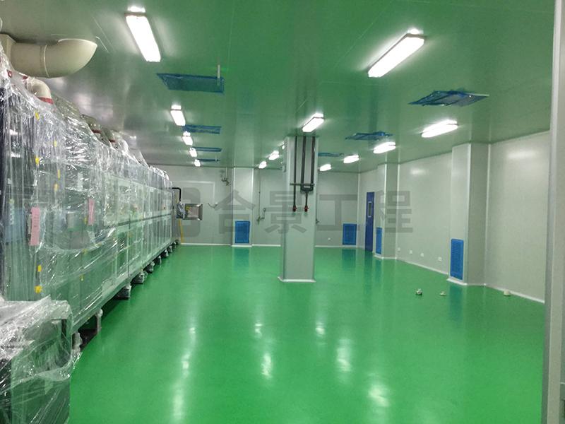 厂房产品生产净化车间环氧地坪破损的修复优缺点