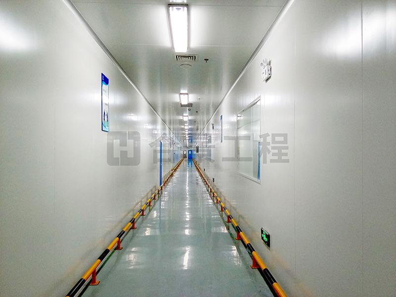 青海比亚迪锂电池洁净工程案例