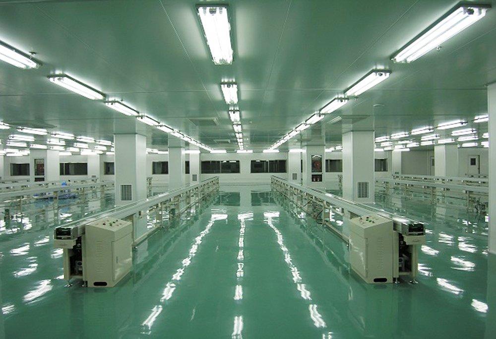 美拜电子电池净化工程案例